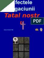 Efectele rugaciunii Tatalu00A0nostru.pps