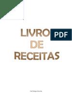 Livro de Receitas Cozinha, Pastelaria 2015