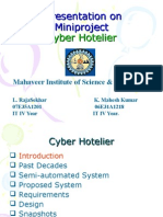 Cyber networking hotel