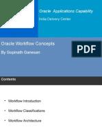 OracleWorkfow Basics Gopinath