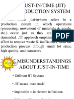 Just-In-time (Jit) Production System