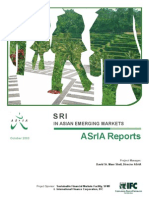 SRI in Asian Emerging Markets - ASrIA Reports (October 2003)