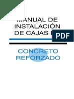 Norma Para La Instalacion de Cajas de Registro de Concreto
