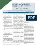 Image Awareness Newsletter August 2008 Insert