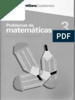 Problemas Matematicas-03 Santillana Cuadernos