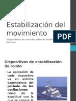 Estabilización Del Movimiento