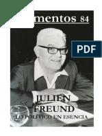 (Elementos) - Nº 84 Julien Freund