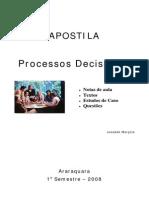 Apostila Completa Processos Decisórios