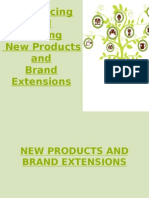 New Products and Brand Extensions
