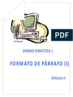 Curso de Word-2003 (Formato de párrafos (I))
