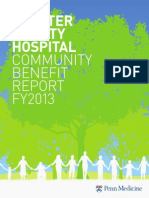 Chester County Hospital Community Benefit Report 2013.pdf