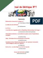Le Journal de l'Afrique N°7