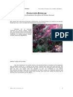 Evoluciones estelares