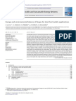 ENERGY AND ENVIRONMENTAL BALANCE OF BIOGAS FOR DUAL-FUEL