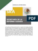 Secretaría de La Reforma Agraria