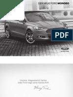 Der Neue Ford Mondeo - Preisliste