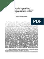Bernabéu-La Religión Ofendida Jesuitas en BC