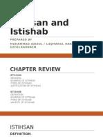 Istihsan and Istishab