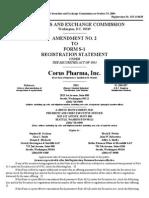 Corus Pharma Inc (Form_ S-1_a, Received_ 10-19-2004 06-09-48)
