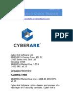 Cyber-Ark ( NASDAQ