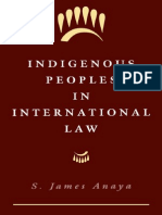 Indigenous Peoples in International Law (2000)
