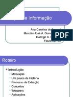 Como extrair informações