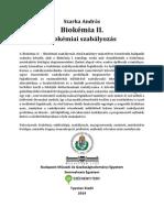 Biokémia II.