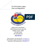 2015 usta dallas league rules and regulations pdf