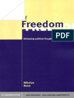 Rose - Powers of Freedom~ Reframing Political Thought _libro