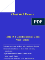Chest Wall Tumor