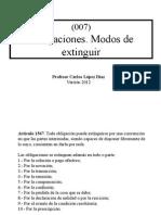 Como Se Extinguen Las Obligaciones en Chile