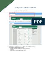 Manual de Configuración de Teléfono IP Yealink