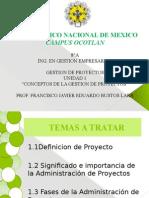 UNIDAD-1 GESTION DE PROYECTOS