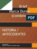 MARCA DUREX BRIEF CORPORATIVO