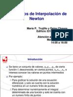 3. Polinomios de Interpolación de Newton