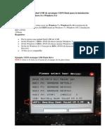 Cómo Crear Una Unidad USB de Arranque UEFI Flash Para La Instalación de Windows 7