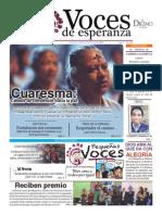 Voces de Esperanza 15 de febrero 2015