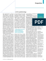 Una Nueva Defincion de Epidemiologia the Lancet 01 24 2015