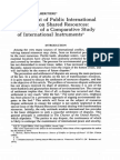 DOMINIQUE ALHERITIERE* Settlement of Public International Disputes on Shared Resources