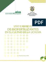 Uso y manejo de biofertilizantes en el cultivo de laUchuva