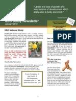 GDO Study Newsletter Jan 2010
