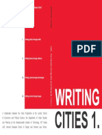 Writing Cities Vol. 01
