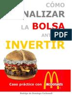 Cómo Analizar La Bolsa Antes de Invertir - Rodrigo de Domingo Carbonell