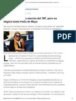 Elisa Carrió Irá a La Marcha Del 18F, Pero No Llegará Hasta Plaza de Mayo - Lanacion