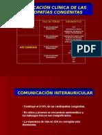 Clasificacion Clinica de Las Cardiopatias Congenitas
