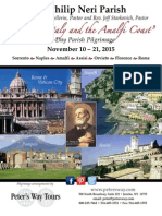 St. Philip Neri- Fr. Keith Pellerin- Italy 2015