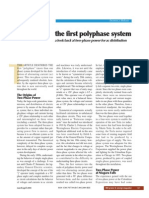 The First Polyphase System