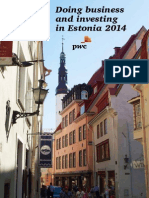 Doing Business and Investing in Estonia 2014