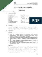Cálculo I 2012-II