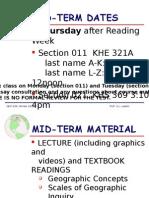 Mid Term Information